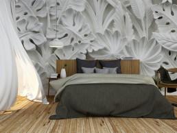 raum manufaktur Ackermann - Wandgestaltung Schlafzimmer Tapete